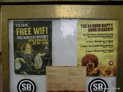 Free Wifi in Edinburgh