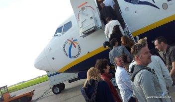 Ryanair boarding