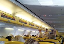 Ryanair Kabine