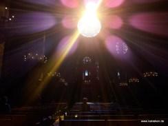 Sonne geht auf in der Kathedrale