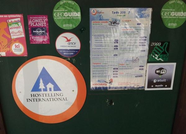 Hostelling International Schilder