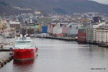 Leaving Bergen