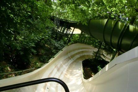 Bobbahn ohne Schienen in Efteling
