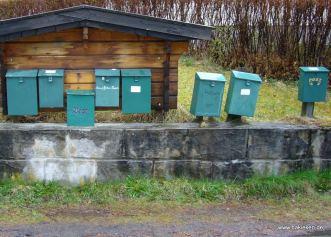 Eidfjord Briefkästen