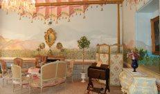 Antikes Zimmer in La Granja