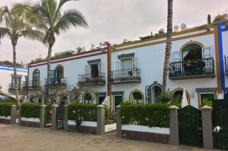 Puerto de Mogan Architektur