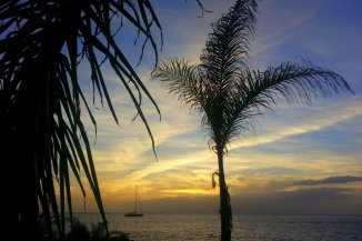Yacht und Meer