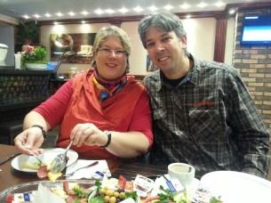 Wir im türkischen Restaurant