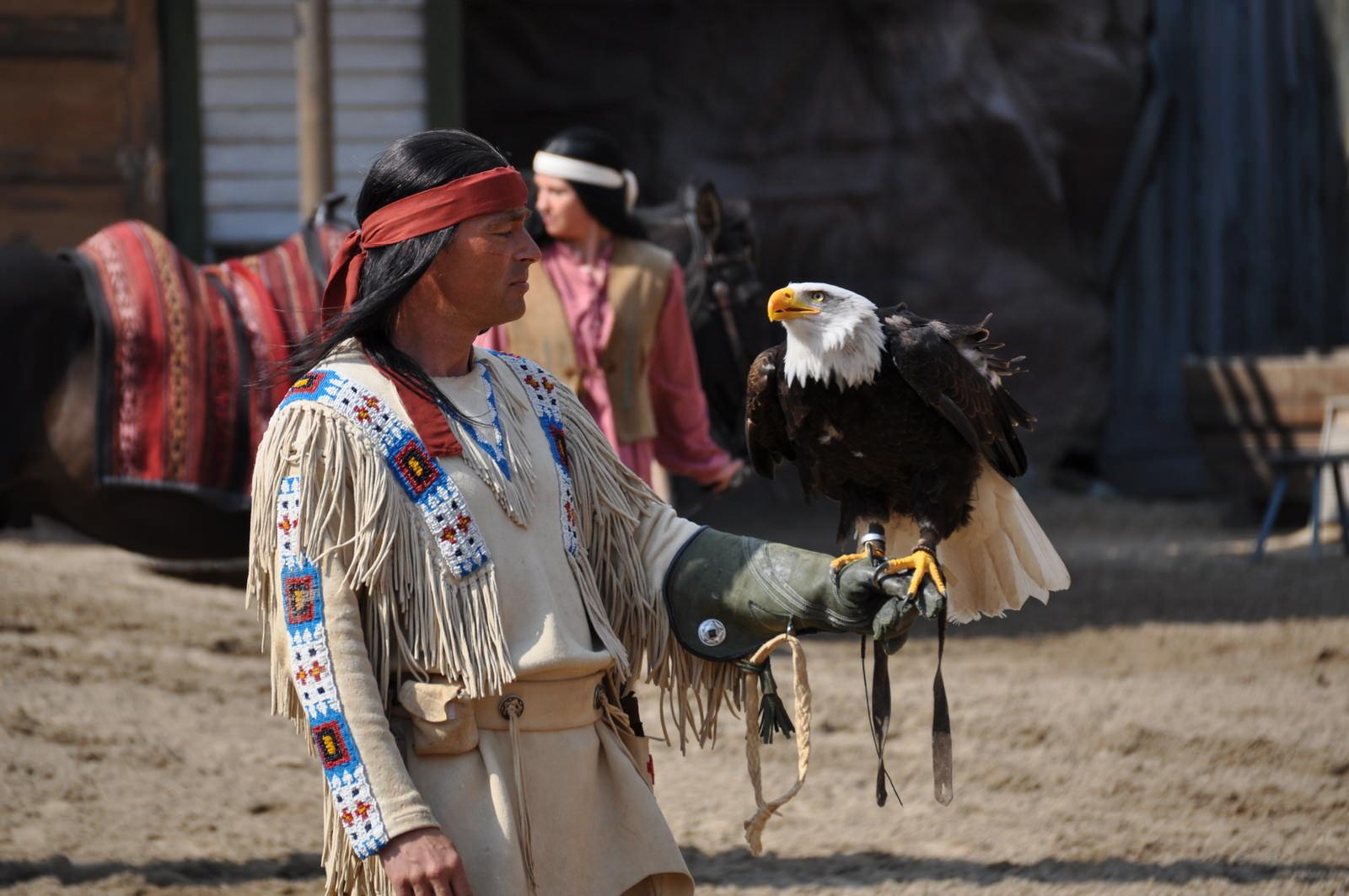 Winnetou mit dem Seeadler