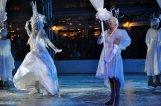 Aufführung auf dem Eis