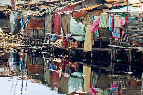 Slums von Manila