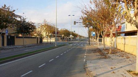 Verlassene Straßen