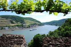 Rhein bei Rheinstein