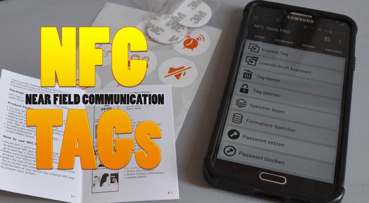 12 Tipps um mit NFCs Chips den Alltag zu automatisieren