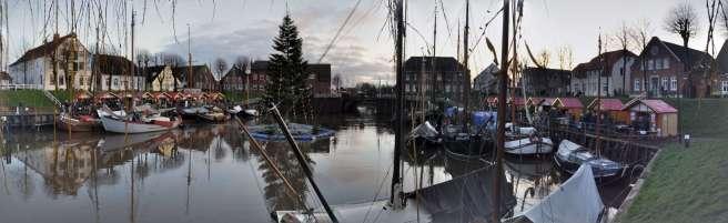 Wintermarkt am Hafen