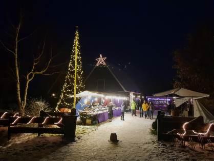 Mittelaltermarkt in Winter