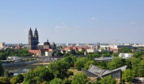 Ausblick auf Magdeburg