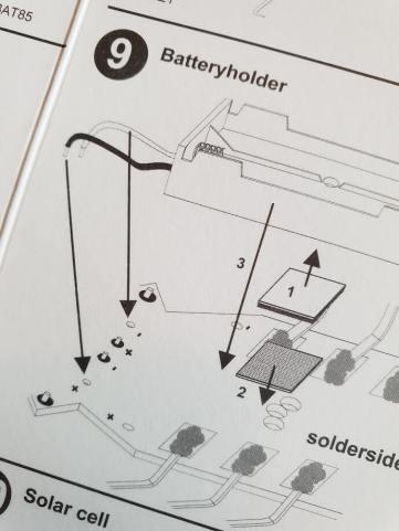 Ausschnitt der Anleitung MK185