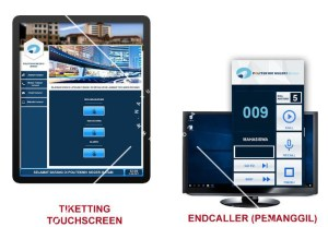 Ticketing Touchscreen KiosK Mesin Antrian