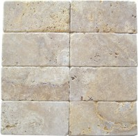 tumbled stone tile  Roselawnlutheran