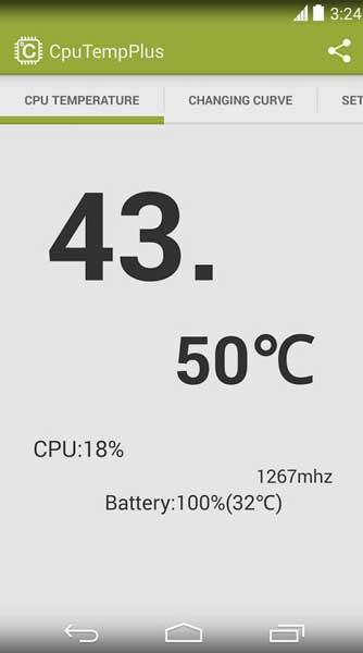 температура батареи процессора галактики s5