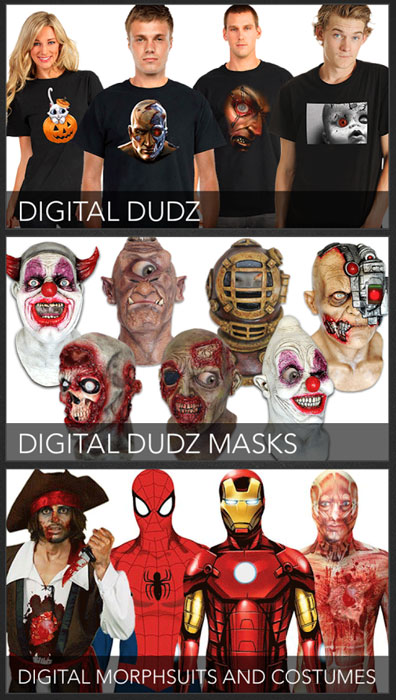 Приложение Digital Dudz на хэллоуин 2014