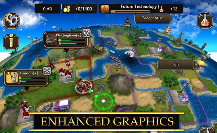 Civilization Revolution 2 скачать на андроид