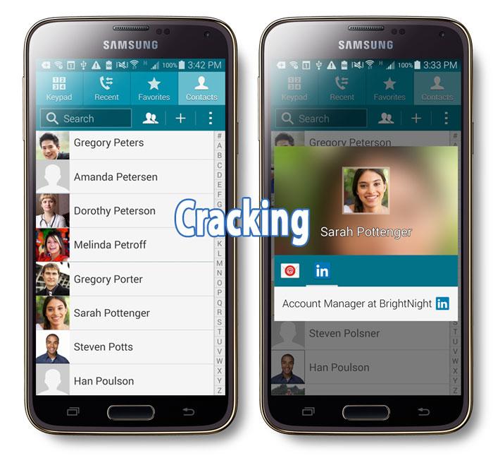 Galaxy S5 исправляет взломанные голосовые звонки