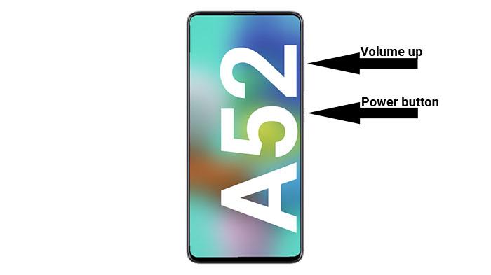 Комбинация клавиш восстановления galaxy a52