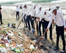 800 kg of plastic waste taken out of Nalsarovar