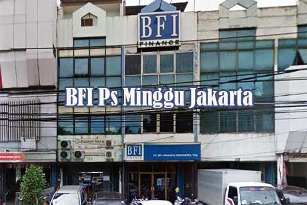 Alamat Kantor BFI Finance Cabang Pasar Minggu