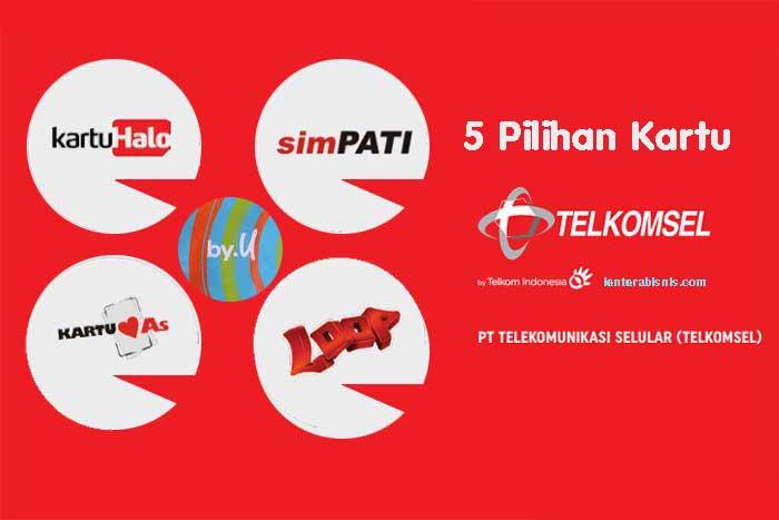 Pilihan Kartu Seluler Telkomsel