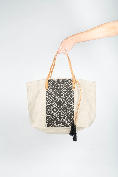 Jasmine Tote Bag Black
