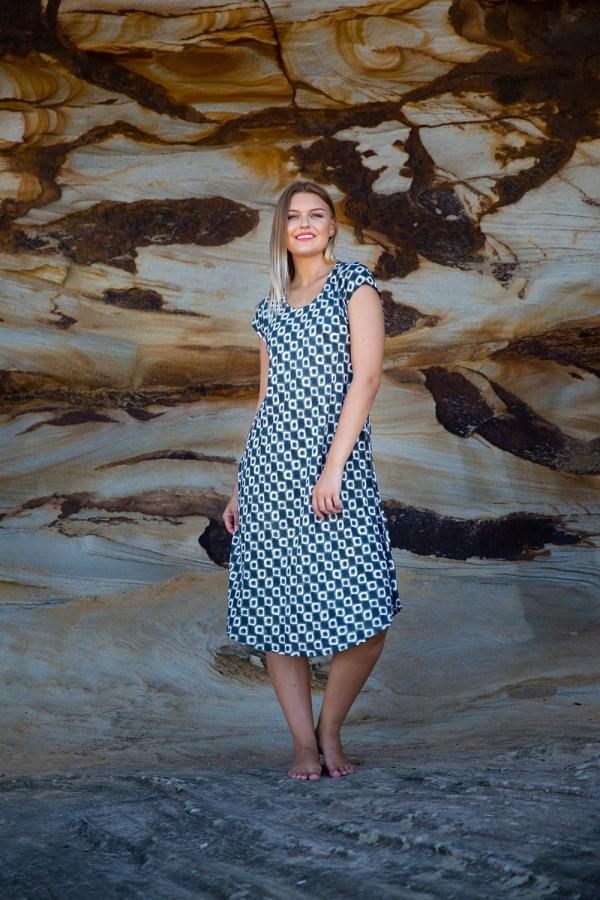 Florence Dress Aix Sage