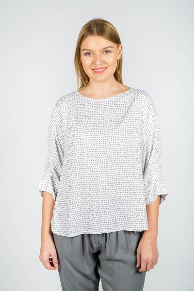 Millie Top Nice Grey