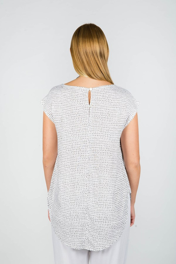 Layla Top Paris Grey