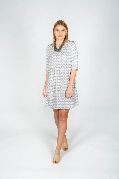 Chloe Dress Aix Grey