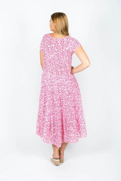 Sophia Dress Fleur Berry