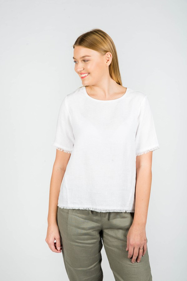 Aria Top White