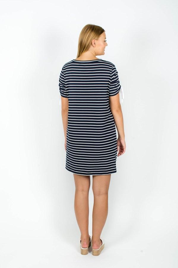 Lexi Dress Navy Stripe