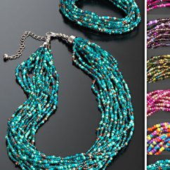 Wholesale Kids Chairs Giant Bean Bag Chair Multi Strand Seed Bead Necklace > Necklaces Jewellery Namaste Fair Trade Namaste-uk Ltd