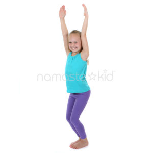 yoga chair pose banana leaf dining room chairs kids poses for classrooms namaste kid is a strength building that of all ages can benefit from children stretch their upper body as they sit in or