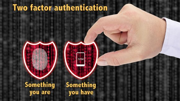 two-factor authentication illustration