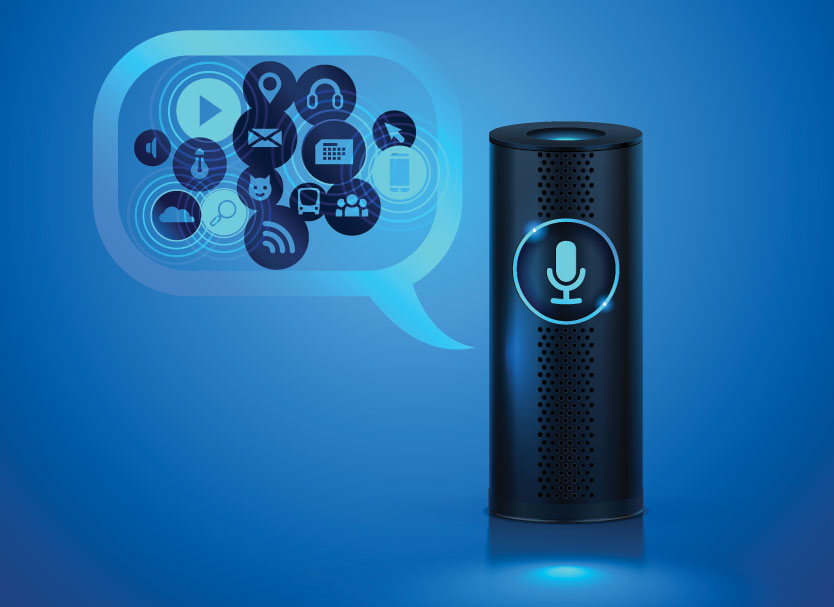 Smart speaker graphic