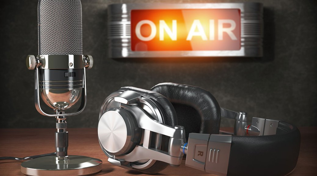 podcasting on air