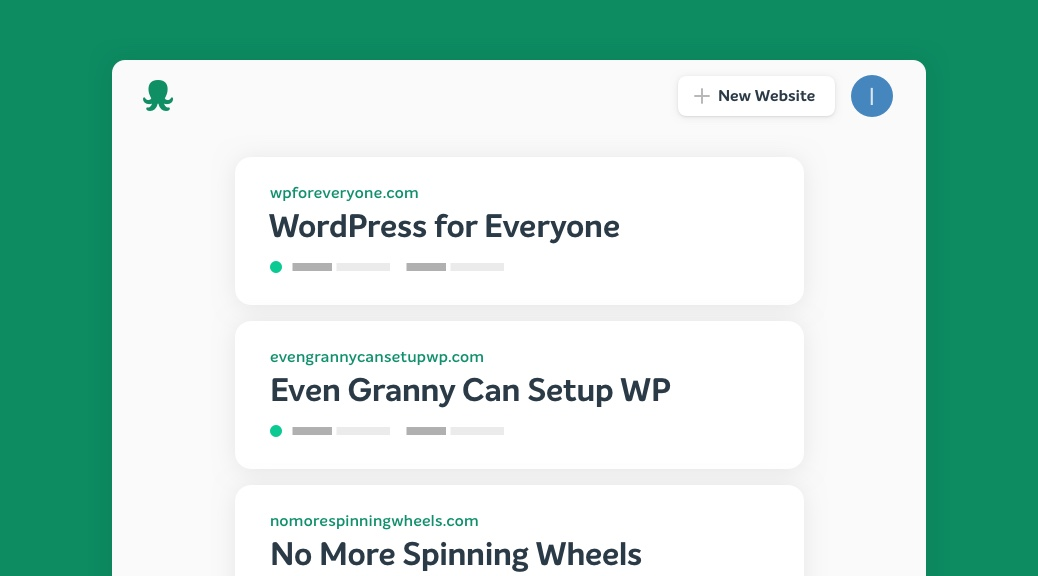 easyWP screenshot