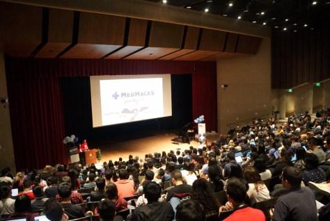 photo of students in auditorium