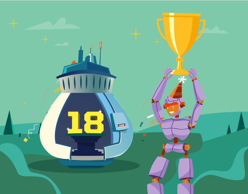 Hero image of 18th Birthday Competition: Winner Announced!
