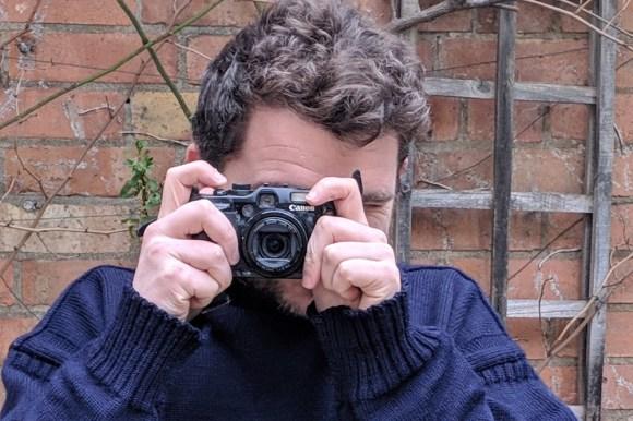 Tim Dickinson with camera
