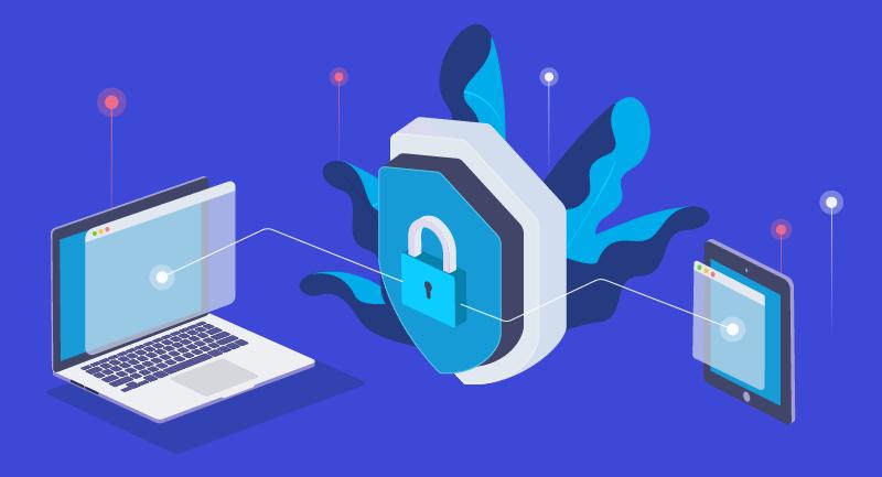Lock demonstrating domain purchase transactions